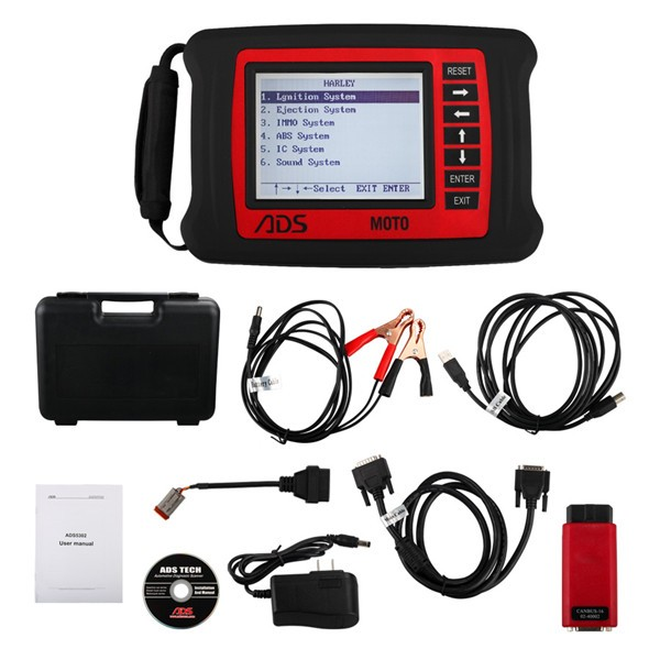 แบบส่งเร้วADS MOTO-H Harley Motorcycle Diagnostic Tool Update Online (Without Bluetooth)
