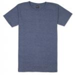 เสื้อยืดคอกลมเรียบ Po02 สีกรมฟอก
