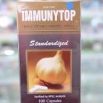 กระเทียมสกัด**Immunytop**100 เม็ด