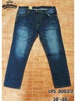 L95 8003/2 กางเกงยีนส์ขายาว ขายกางเกง กางเกงคนอ้วน เสื้อผ้าคนอ้วน กางเกงขายาว กางเกงเอวใหญ่ สำเนา
