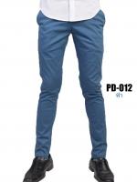 กางเกงขายาว รุ่น PD-012 (สีฟ้า)