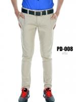 กางเกงขายาว รุ่น PD-008 (สีครีม)