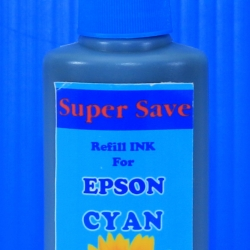 "น้ำหมึก Super Save 100 cc for EPSON ""CYAN"""