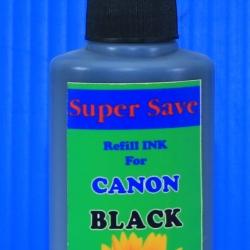 """น้ำหมึก Super Save 100 cc for CANON """"BLACK"""""""