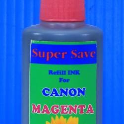 """น้ำหมึก Super Save 100 cc for CANON """"MAGENTA"""""""