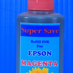 "น้ำหมึก Super Save 100 cc for EPSON ""MAGENTA"""