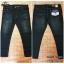 GLAM 914/1 กางเกงยีนส์ขายาว ขายกางเกง กางเกงคนอ้วน เสื้อผ้าคนอ้วน กางเกงขายาว กางเกงเอวใหญ่ thumbnail 3