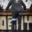 กางเกง JOGGER พรีเมี่ยม ผ้า COTTON 100% รหัส SST 615 Blue สีดำ แถบฟ้า thumbnail 2