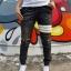 STRETCH JEANS JOGGER PANTS | ขาจั๊มยีนส์ยืด YM610 W thumbnail 3