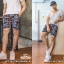กางเกงขาสั้น พรีเมี่ยม ผ้า วอร์ม รหัส WT281 TAX Panther B เสือดำ SUMMER SALE thumbnail 2
