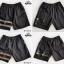 กางเกงขาสั้น พรีเมี่ยม ผ้า COTTON รหัส SST 201 W สีครีม แถบ ขาว SUMMER SALE thumbnail 6