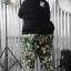 กางเกง JOGGER พรีเมี่ยม ริมแดง BIG ทหารเขียว thumbnail 10