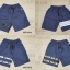 กางเกงขาสั้น พรีเมี่ยม ผ้า COTTON รหัส SST 201 W สีครีม แถบ ขาว SUMMER SALE thumbnail 7