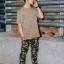 กางเกงขายาว พรีเมี่ยม ผ้า COTTON รหัส WT680 CLAW PANT สีทหารเขียว เล็บเสือดำ thumbnail 4