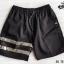 กางเกงขาสั้น พรีเมี่ยม ผ้า COTTON รหัส SST 215 B สีดำ แถบดำ thumbnail 8