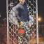 กางเกง Jogger ขาจั๊ม พรีเมี่ยม ผ้า วอร์ม รหัส WT 679 RR สีทหาร แถบ แดง thumbnail 3