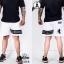 กางเกงขาสั้น พรีเมี่ยม รหัส WT 222 B สีขาว แถบดำ SUMMER SALE thumbnail 1