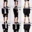 กางเกงขาสั้น พรีเมี่ยม ผ้า COTTON รหัส SS T215 TAX ฺB สีดำ แถบแท็กดำ SUMMER SALE thumbnail 6