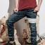 STRETCH JEANS JOGGER PANTS | ขาจั๊มยีนส์ยืด YM612 W thumbnail 4