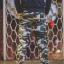 กางเกง Jogger ขาจั๊ม พรีเมี่ยม ผ้า วอร์ม รหัส WT 679 BB สีทหาร แถบ ดำ thumbnail 4