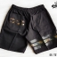 กางเกงขาสั้น พรีเมี่ยม ผ้า COTTON รหัส SST 215 G สีดำ แถบทอง thumbnail 8