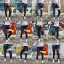 STRETCH JEANS JOGGER PANTS | ขาจั๊มยีนส์ยืด YM612 R thumbnail 5