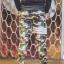 กางเกง Jogger ขาจั๊ม พรีเมี่ยม ผ้า วอร์ม รหัส WT 679 WW สีทหาร แถบ ขาว thumbnail 3