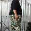 กางเกง JOGGER พรีเมี่ยม ริมแดง BIG ทหารเขียว thumbnail 11