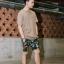 กางเกงขาสั้น พรีเมี่ยม ผ้า COTTON รหัส WT280 CLAW PANT สีทหารเขียว เล็บเสือดำ thumbnail 4