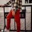 กางเกง JOGGER พรีเมี่ยม ผ้า COTTON รหัส SS 617 แดงสด thumbnail 1