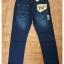 F524/2 กางเกงยีนส์ขายาว ขายกางเกง กางเกงคนอ้วน เสื้อผ้าคนอ้วน กางเกงขายาว กางเกงเอวใหญ่ thumbnail 2