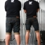 LVIS S26/3 กางเกงยีนส์ขาสั้น ขายกางเกง กางเกงคนอ้วน เสื้อผ้าคนอ้วน กางเกงขาสั้น กางเกงเอวใหญ่ thumbnail 5