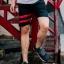กางเกงขาสั้น พรีเมี่ยม ผ้า COTTON รหัส SST 215 R สีดำ แถบ แดง thumbnail 1