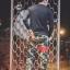 กางเกง Jogger ขาจั๊ม พรีเมี่ยม ผ้า วอร์ม รหัส WT 679 RR สีทหาร แถบ แดง thumbnail 4