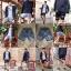 กางเกงขาสั้น พรีเมี่ยม ผ้า COTTON รหัส SST 215 ฺGreenBrown สีดำ แถบ เขียวน้ำตาล thumbnail 3