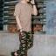 กางเกงขายาว พรีเมี่ยม ผ้า COTTON รหัส WT680 CLAW PANT สีทหารเขียว เล็บเสือดำ thumbnail 6
