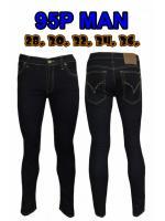 กางเกงยีนส์ขาเดฟผู้ชาย ซิป ยีนส์ยืด สีดำยีนส์ มี SIZE 28,30,32,34,36