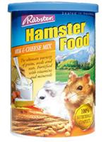 อาหารหนูแฮมสเตอร์ทุกพันธุ์ ยี่ห้อ Rabster สูตรผสมนมและชีส - ขนาด 500 กรัม