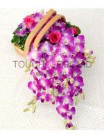 กระเช้าดอกไม้ Anna Basket