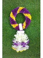 พวงมาลัยดอกไม้สด ขนาดพิเศษ รหัส 3511