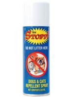STOPP สเปรย์ป้องกันสัตว์เลี้ยงทำสกปรก