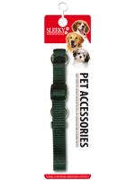 SLEEKY - ปลอกคอไนลอนควบคุมสุนัข S (9-16 นิ้ว)