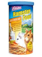 อาหารหนูแฮมสเตอร์ทุกพันธุ์ ยี่ห้อ Rabster สูตรผสมนมและชีส - ขนาด 200 กรัม