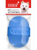 แปรงยางทำความสะอาดขนหมาแบบปรับได้ ยี่ห้อ SLEEKY สำหรับอาบน้ำสุนัขทุกสายพันธุ์