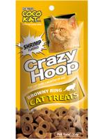 ขนมแมว CocoKat เครซี่ฮูป รสกุ้ง ขนาด 35 กรัม