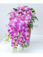 แจกันดอกไม้ Elly Delight รหัส 3066