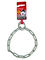 ปลอกคอโซ่สำหรับสุนัข SLEEKY โซ่คอสเเตนเลสฝึกหมา ขนาด 3 มม. ยาว 14 นิ้ว