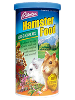 อาหารหนูแฮมสเตอร์ทุกพันธุ์ ยี่ห้อ Rabster สูตรผสมสมุนไพรและน้ำผึ้ง - ขนาด 200 กรัม