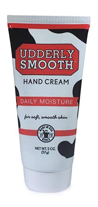 UDDERLY SMOOTH HAND CREAM 2 oz (57 g) เปลี่ยนมือที่แห้งกร้านให้กลับมานุ่มนวลอีกครั้ง จากอเมริกาค่ะ