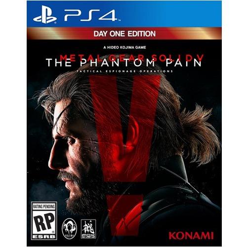 PS4: Metal Gear Solid V - The Phantom Pain Day One Edition (Z2) [ส่งฟรี EMS]